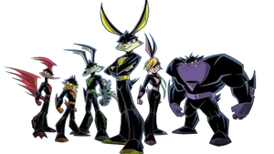 Loonatics Render by MarioFanProductions