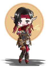 COMMISSION - kiva10 (Artistsnclients) by ChiseiChii