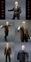 Hitman is Agent 47 by Jin-Saotome