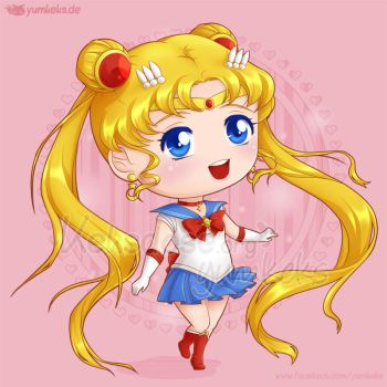 Sailor Moon Chibi by yumkeks