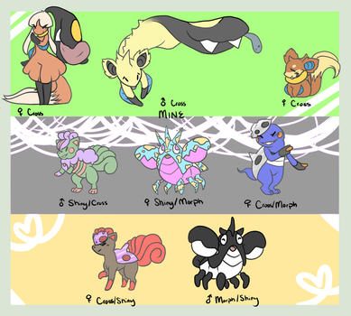 .:PKMNation:. June Clutch #2 [CLOSED] by pokette-arts