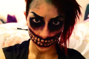 Cheshire Cat 3# (Makeup) by Amythealien