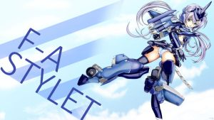 Frame arms girl Stylett wallpaper by daronzo83
