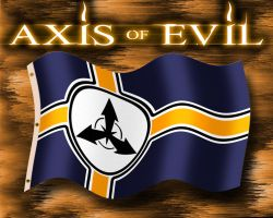 Axis of Evil Flag Concept by EspionageDB7