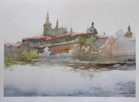 Prague Panorama -  Hradczany by esper-nza