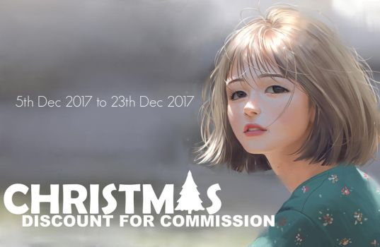 CHRISTMAS DISCOUNT FOR COMMISSION by ChubyMi