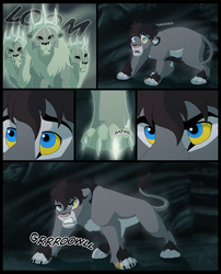 A Claw in the Dark Page 1 by WindWo1f