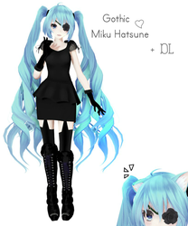 .: Miku Hatsune + DL :. Gift for +32 watchers by Unhealthy-life