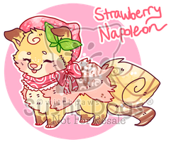 O-0447 Strawberry Napoleon by SooshDatabase