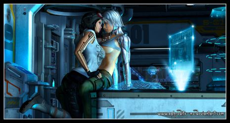 Star Wars: Doctor Aphra and Magna Tolvan by Aphrodite-NS