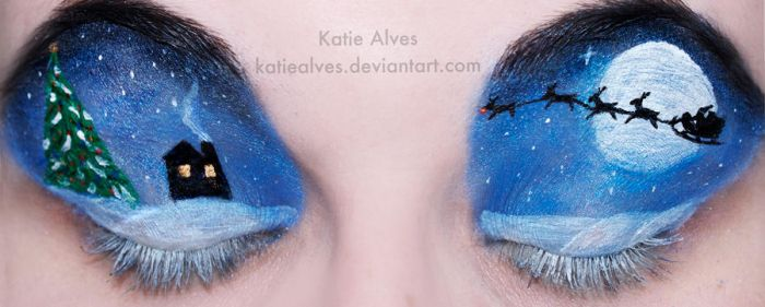Christmas Eyes by KatieAlves