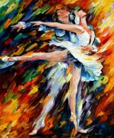 Romeo And Juliet by Leonid Afremov by Leonidafremov
