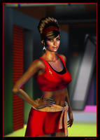 Mirror Uhura 02 by mylochka