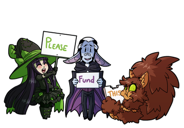 Fiona Frightening commission 26 - Please Fund This by DrCrafty