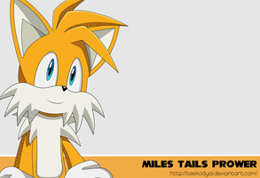 Miles Tails Prower by VagabondWolves