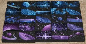 Mini Artomat Spacescapes 826-850 by crazycolleeny