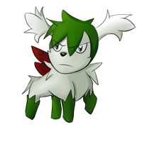 Shaymin by Shinobka