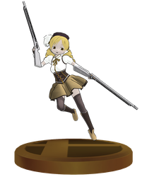 [MMD] Tomoe Mami SSB Trophy by ToaJahli