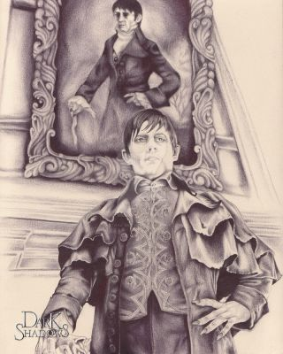 BallPoint Pen Barnabas Portrait by Astral-Dragon