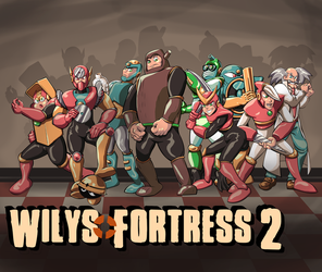 Wily's Fortress 2 by Inkmonkey-Woodis
