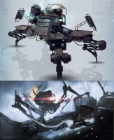 Old cancelled project concepts by bradwright