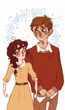 -Height Difference- by HennaFaunway