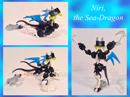 Niri, the Sea-Dragon by Toa-Shifter