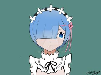 Fanart - rem (re:zero) by eb4224