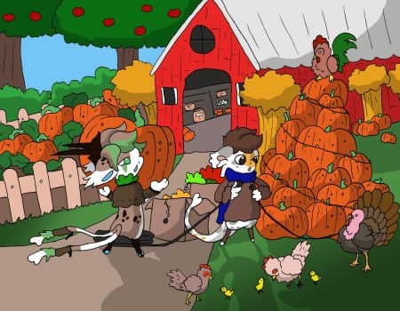 Bagbeans Pumpkins Galore Prompt Entry by SonGoku-Monkey