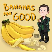 Bananas are good by staypee
