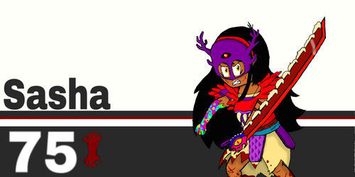 Super Smash bros Ultimate: Sasha by SuperToni14