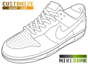 Nike gallery favourites by l a k art on deviantart joeyippel 35 10 nike dunk template by wopek maxwellsz