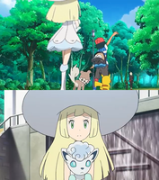 Lillie is worried about Gladion by WillDynamo55