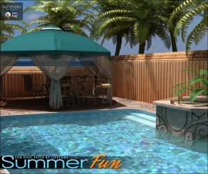 Summer Fun for Pool Patio DS by cosmosue