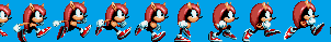 SONIC MANIA PLUS : Mighty Standing/Walking sprites by YTFloesion