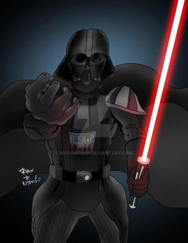 Darth Vader by RyanNitsch