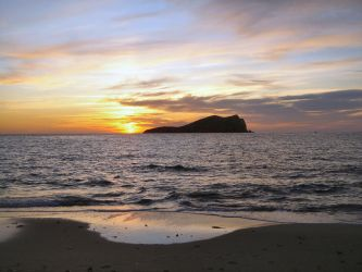 Sunset in Cala conta 03 by Birikein