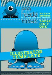EggHeadz: Illustrator Template by EggHeadz