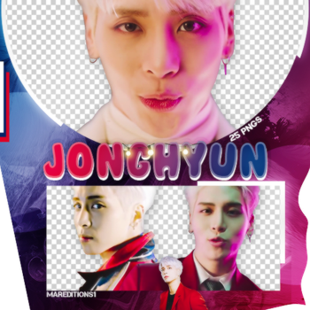 /PACK PNG/ JONGHYUN. by MarEditions1