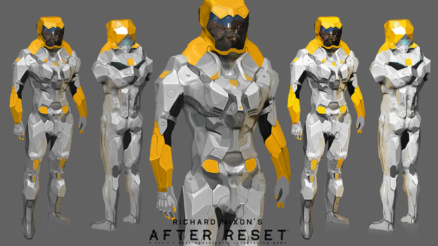 After Reset: NBC Suit 'Labrat' concept by blackcloudstudios