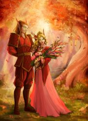 Commission - In the Eversong Woods by LiberLibelula