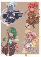 :Adopts: Seasons boys :CLOSED: by MMtheMayo