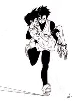 Hang in there Videl by Socij