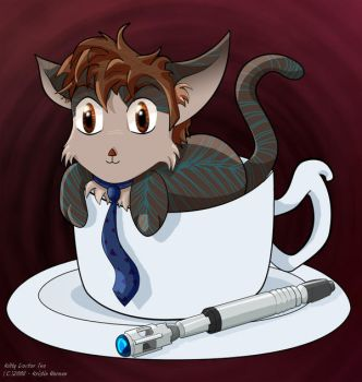 Kitty-Doctor's Tea by Kitzira