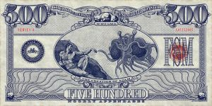 Flying Spaghetti Monster Currency by vectorgeek