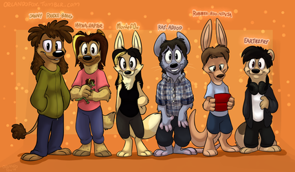 Game Grumps - Animal Edition by TheDoggyGal