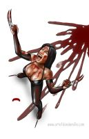 X23 Bloodlust by Dan-DeMille