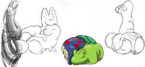.::Treecko and Cyndaquil::.