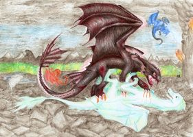 The Blood Fury by Misza07