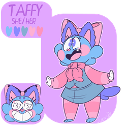 Taffy Ref by marshmeowlo